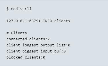 Quem suporta e monitora o REDIS - cli command imagem