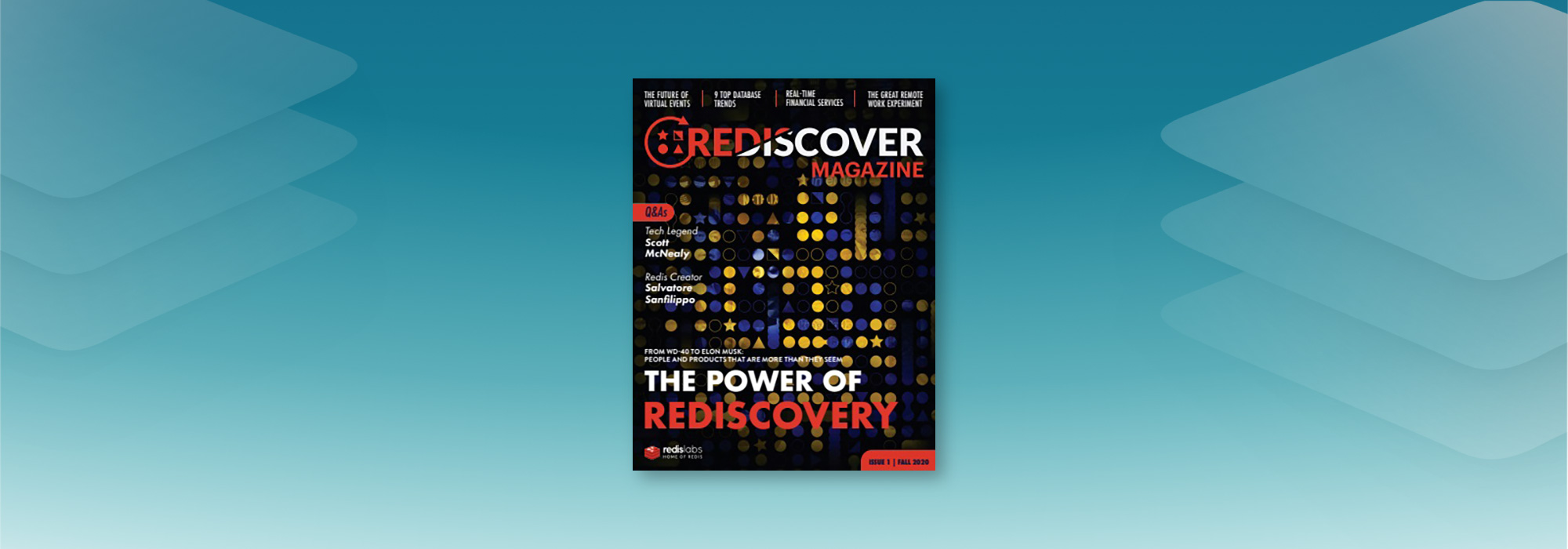 Introducing Rediscover Magazine